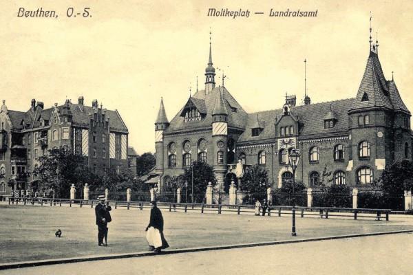 Pocztówka zezbiorów Muzeum Górnośląskiego