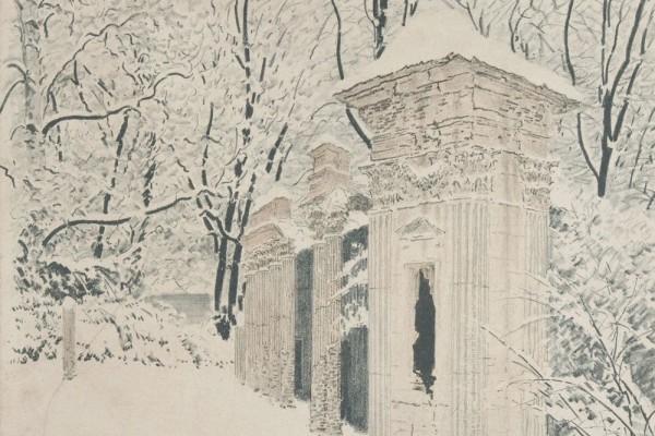 Grafika Leona Wyczółkowskiego zezbiorów Muzeum Górnośląskiego