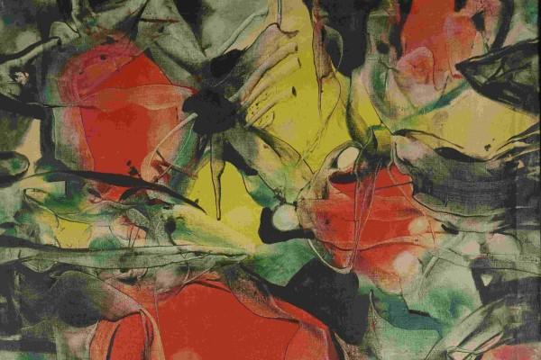 fragment obrazu ALFREDA LENICY, Opis morza: Faktura iFantastyka, 1965,